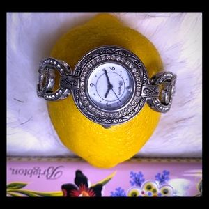 Brighton diamond studded vintage watch
